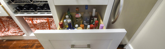 Combination Pantry & Bar